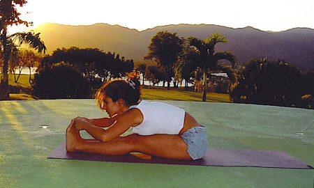 Upavistha Konasana Yoga Pose