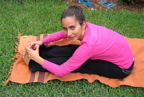 Forward Bend Yoga Mundo
