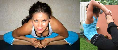 Yoga back Stretches Monica Hornung Yoga Instructor Boynton Beach