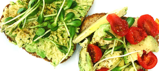 Easy Vegan Avocado Toast