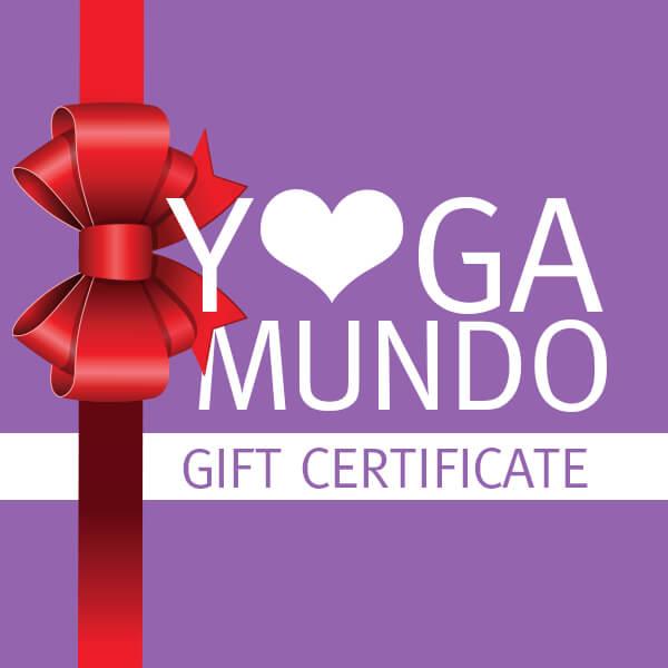 Yoga Mundo Gift Certificate